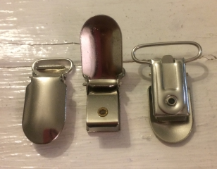 Dummy Clip Metal 40mm R35 7 pieces. This is Lovely Strong Dummy Clip or can be used for Suspender Cllips