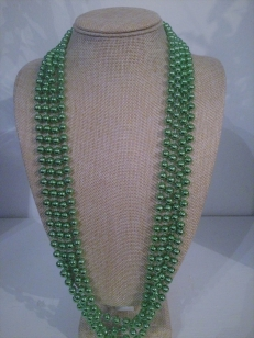 MardiGrass Green Necklace, *Buy Any 10, Pay Half Price