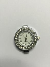 Watch Face 2 Silver Diamante