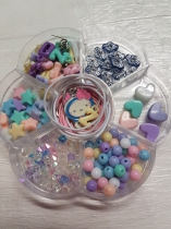 Girls and Boys Bead Kits, come with beads, cords, charms. Perfect for Parties and Childrens Gifts