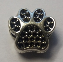 Metal Bead Paw 1 - R30 (10 pieces)