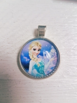 Frozen Metal Pendant with Glass Dome Elsa *R20 each or R150 (10 pieces)