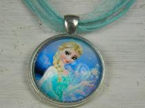Kids Frozen Pendant 1 (silk ribbon cords available in all colours, sold separately)